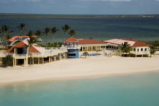 Отель LIGHTHOUSE BAY RESORT HOTEL BARBUDA 5* отдых на Антигуа и Барбуда