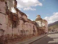 Развалины древних монастырей