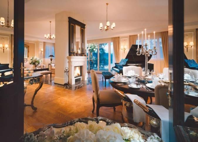 Туры в в Австрию. Отель Schloss Fuschl
