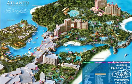 Фото отеля Coral Towers 4* комплекс Atlantis Resort Paradise Island