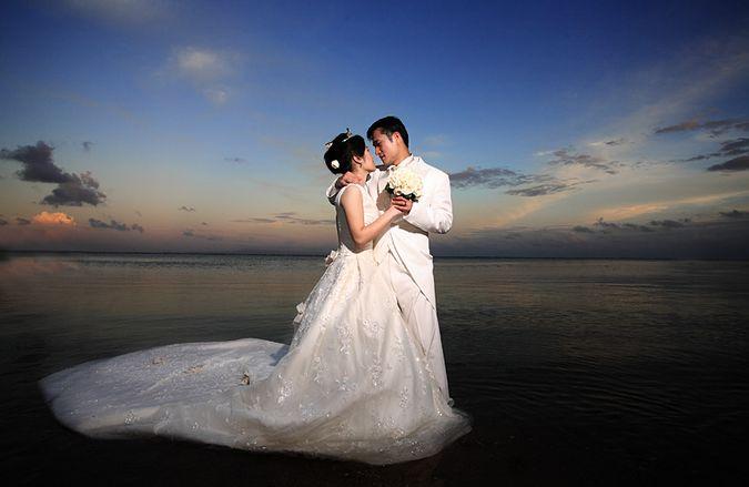 Лодка для свадьбы фото