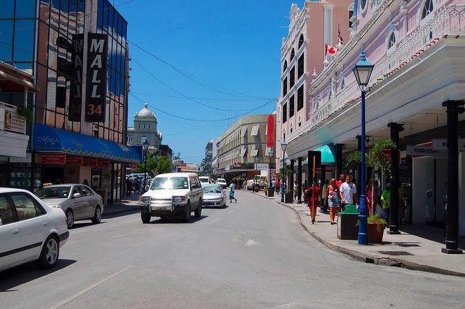 Бриджтаун - столица Барбадоса