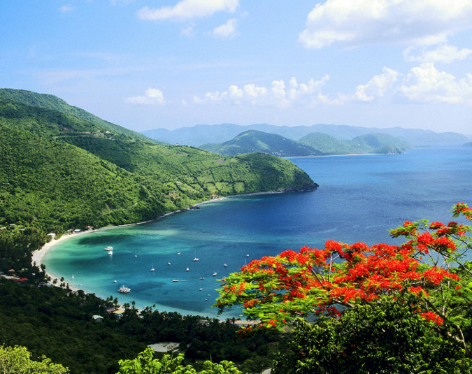 Фото Британских Виргинских островов