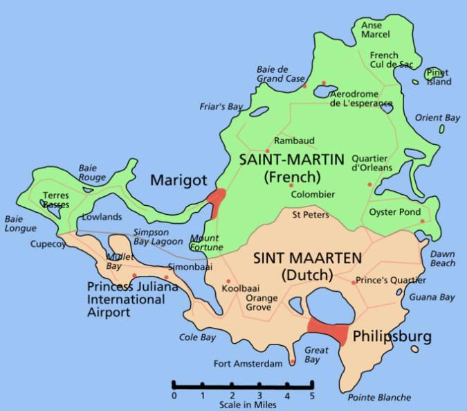 Туры на Сен-Мартен 2020