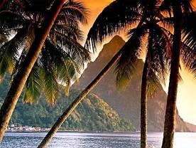 Отдых на Карибах - Остров Санта-Лючия