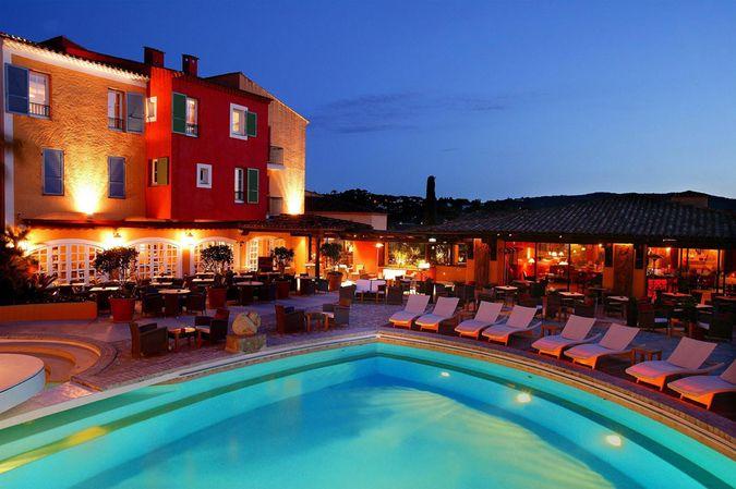 Фото отеля Byblos St. Tropez 5* Deluxe отдых во Франции
