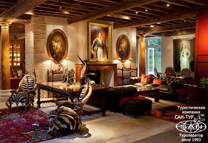 Фото отеля les pres d eugenie 5 de luxe франция
