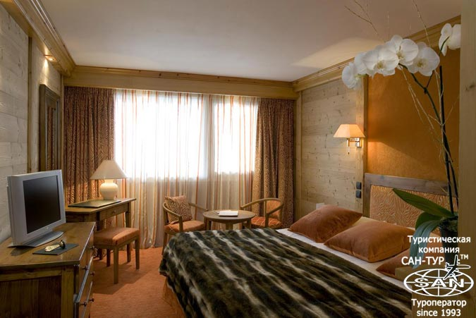 Фото отеля Carlina Courchevel 5* Франция