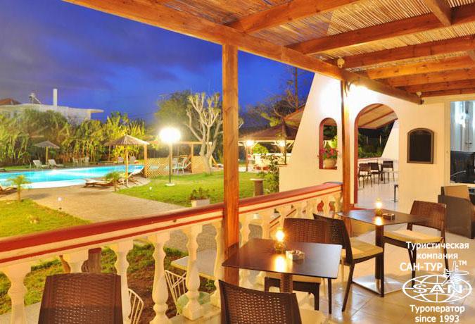Нудистский отель Naturist Angel Nudist Club Hotel 3* Родос, Греция