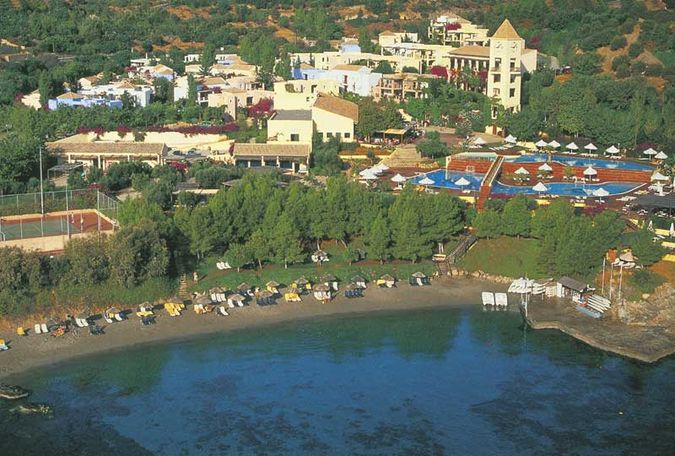 Отели на берегу моря в греции