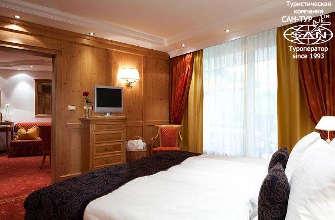 Фото отеля Alpenroyal Grand Hotel Gourmet Spa 5* Италия