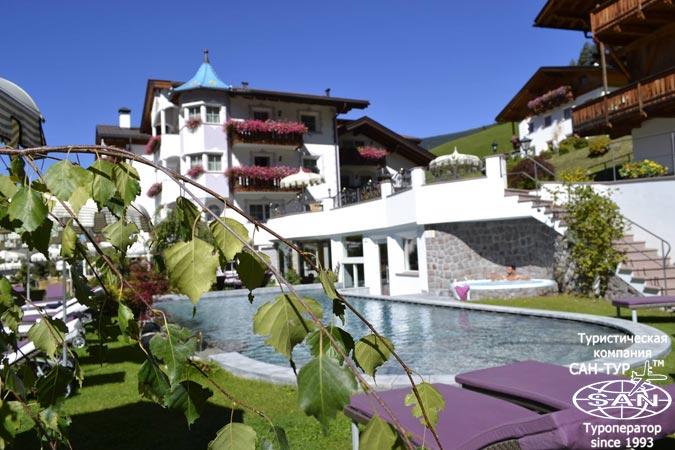 Фото отеля Alpin Garden Wellness Resort 5* Италия