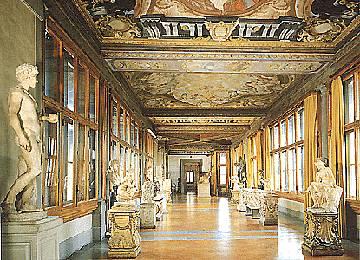 Галерея Уффици. Достопримечательности Италии
