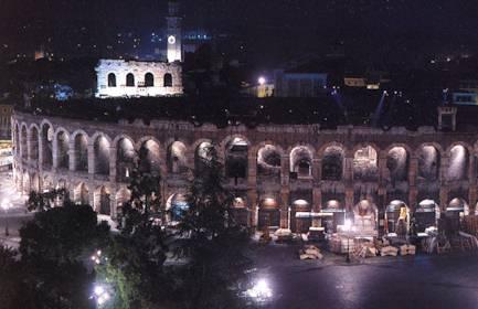 Арена ди Верона - римский амфитеатр - Достопримечательности Италии