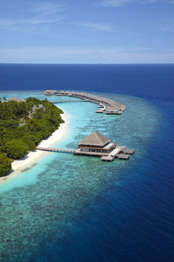 Dusit Thani Hotel Maldives:  проживая момент в океане блаженства