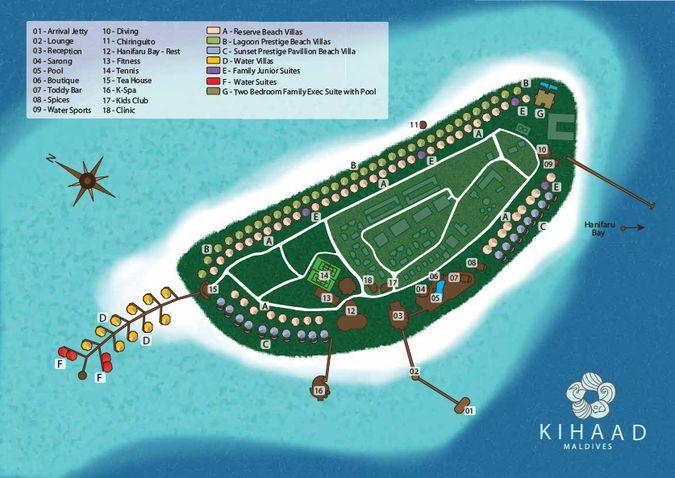Фото отеля KIHAAD MALDIVES 5* DE LUXE - отдых на Мальдивских островах