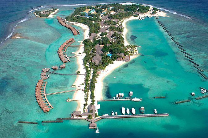 Отель SHERATON FULL MOON MALDIVES HOTEL 5* - отдых на Мальдивских островах САН-ТУР