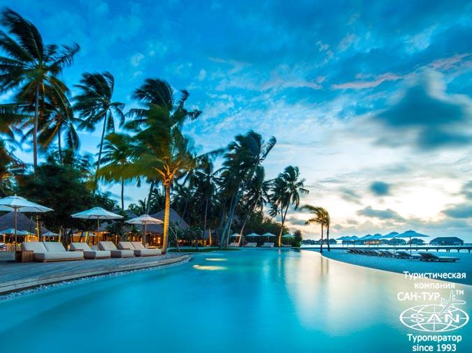 COMO Maalifushi Мальдивы - 65 апартаментов и вилл на острове и на воде