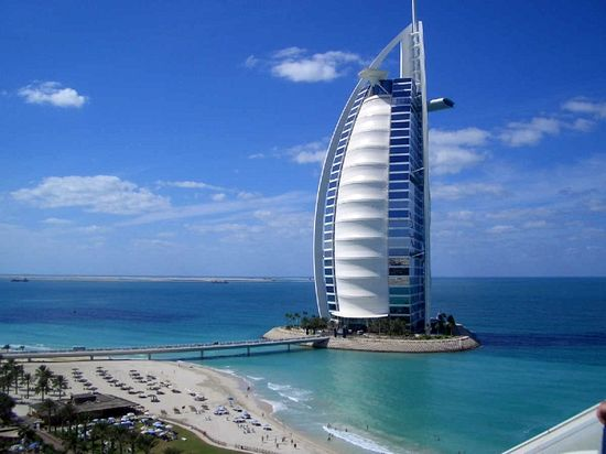 10 самых известных отелей Дубая