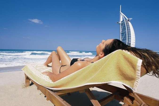 Madinat Jumeirah c новой строки