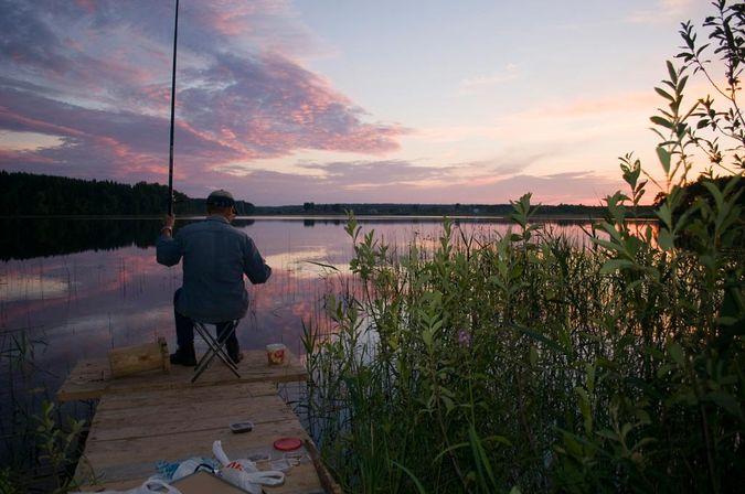 где на селигере ловить рыбу