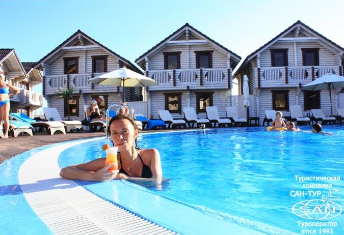 Фото отеля Клуб отель Белый Пляж 4* Анапа