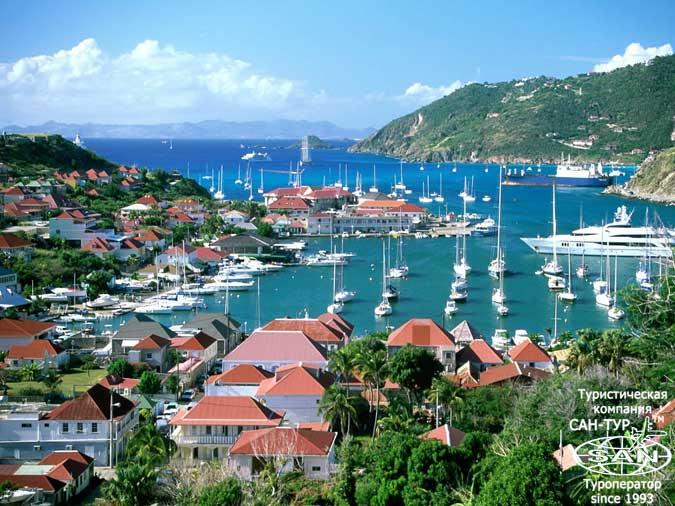 Сен-Бартелеми - самый гламурный остров в Карибском море