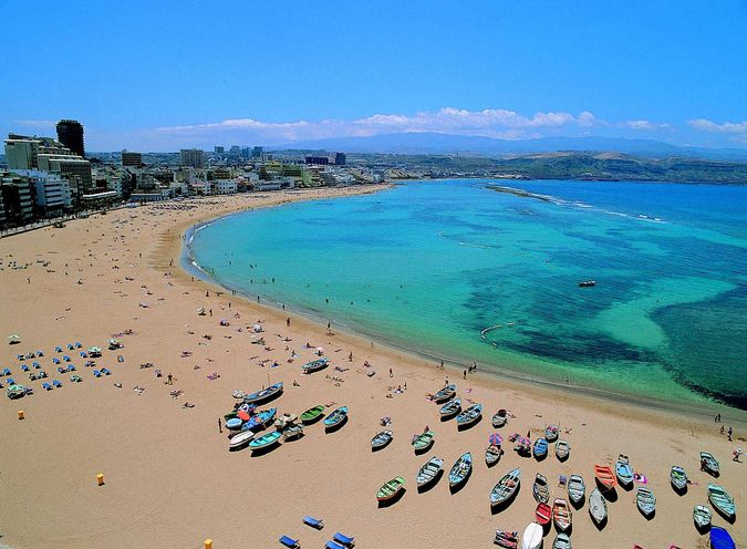Тенерифе  Нудистские пляжи курорты и отели дальнего