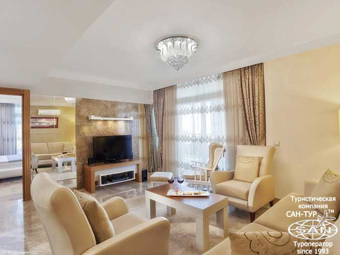 Фото отеля Alva Donna World Palace 5* Кемер