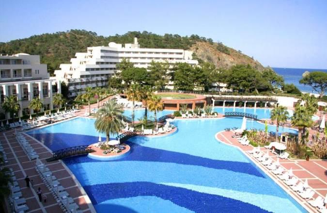 Rixos tekirova турция — фешенебельный отель