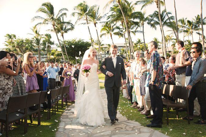 Hilton maui wedding