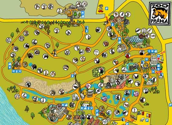 Интерактивная карта зоопарка