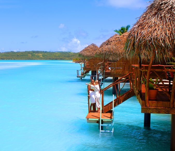 Фото отеля AITUTAKI LAGOON RESORT AND SPA 4* DE LUXE - отдых на островах Кука