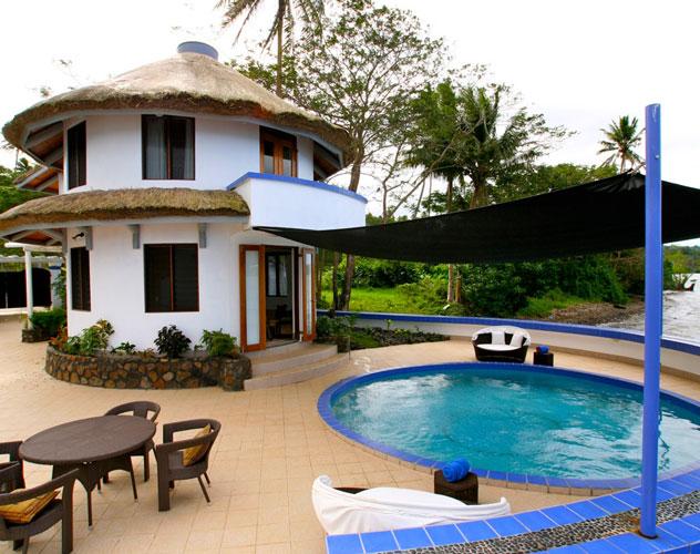 Fiji villa wedding