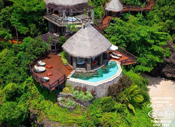 Laucala Island Resort Фиджи  – уникальный VIP-курорт