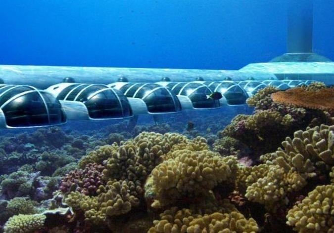 Картинки по запросу Подводный отель «Poseidon Undersea Resort 5» - Фиджи