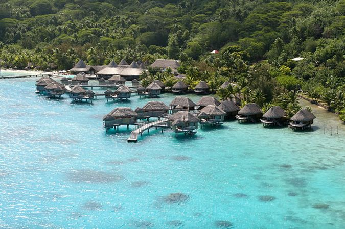 ���� �� ����������� ��������� -����� SOFITEL BORA BORA BEACH RESORT 4*