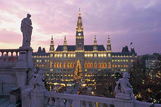 Новогодние туры в Австрию. Курорт Вена