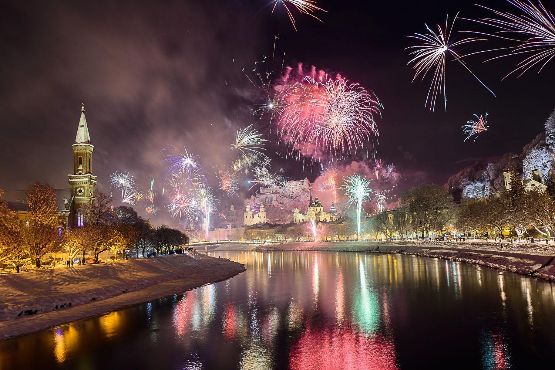 Новогодние туры в Австрию. Курорт Зальцбург
