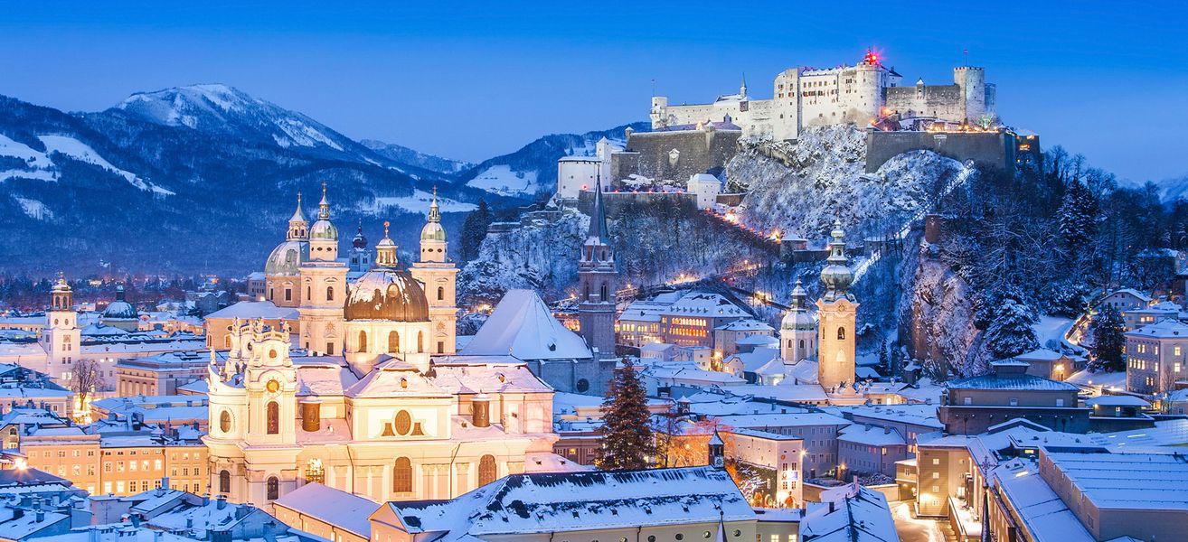 Новогодние туры в Австрию. Курорт Зальцбург (Salzburgerland)