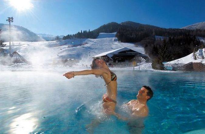 Австрийские термы в горах