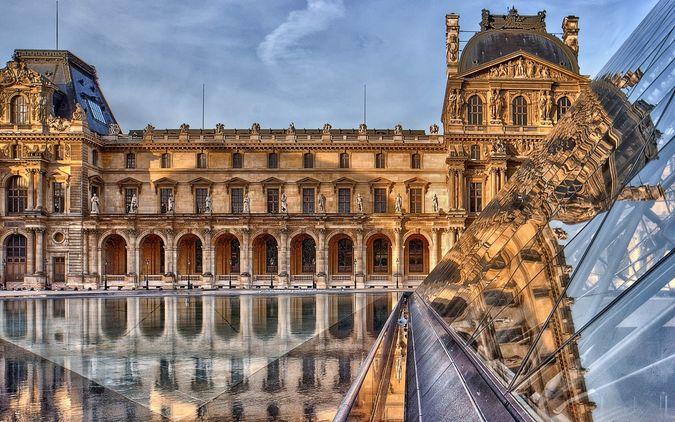 Интересное фото зданий и пейзажей франции г парижа