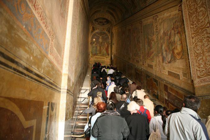 Святая лестница в Латеранском дворце