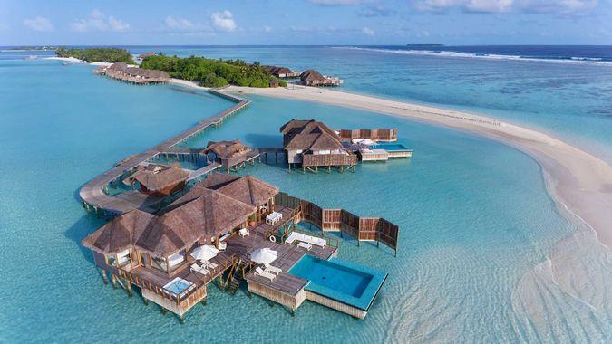 Conrad Maldives Rangali Island 5* - уникальная идиллия, утопающая в роскоши