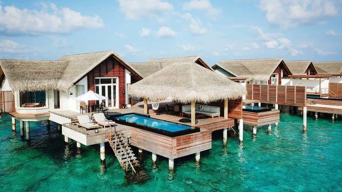 Fairmont Maldives Sirru Fen Fushi 5* секретный остров на Мальдивах