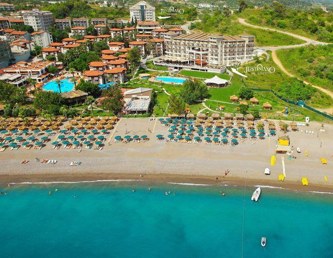 Отель Justiniano Deluxe Resort 5* Алания Турция в марте
