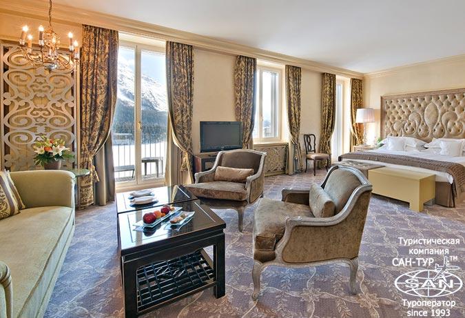 Фото отеля Carlton Sankt-Moritz 5* Швейцария