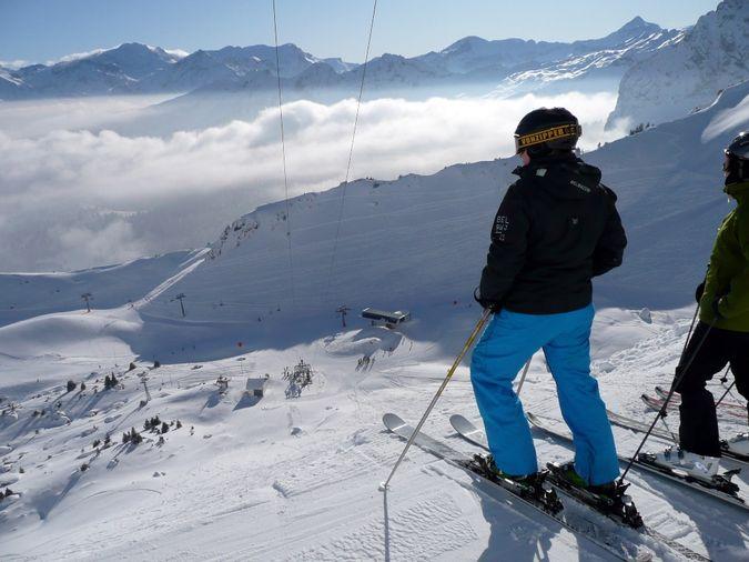 О швейцарских горнолыжных трассах
