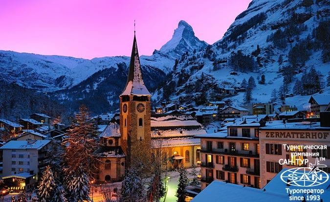 Фото отеля Grand Hotel Zermatterhof 5* Швейцария