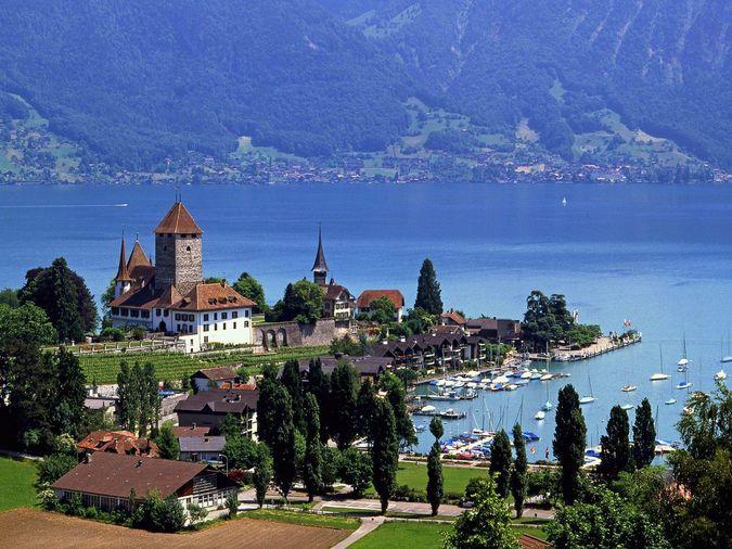 Швейцария - страна путешествий